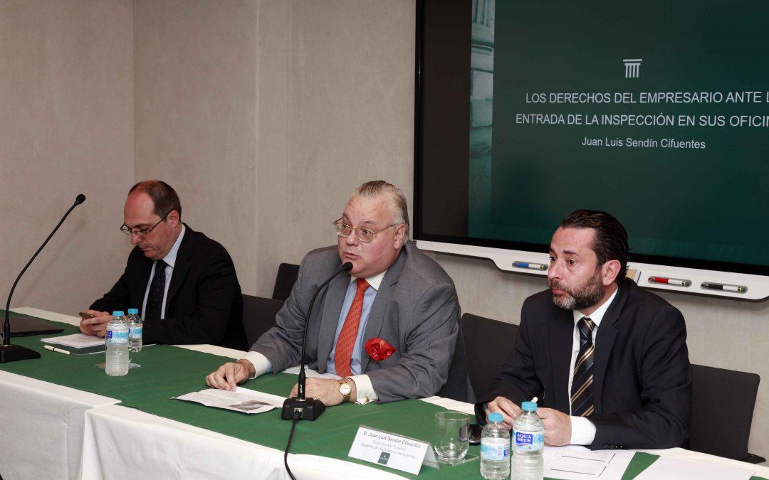 AGEMCEX informa sobre los derechos del empresario ante la entrada de los inspectores de Hacienda en sus oficinas