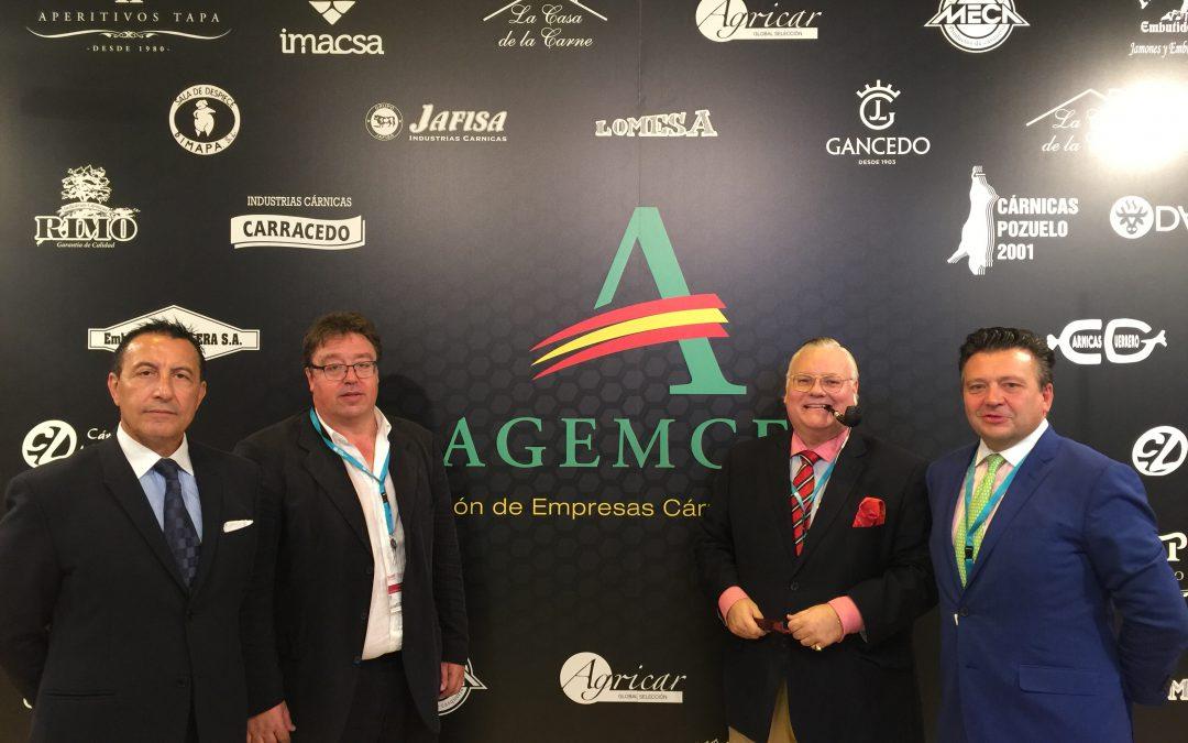 Éxito de visitantes y operaciones de negocio en el stand de AGEMCEX en MEAT ATTRACTION 2018